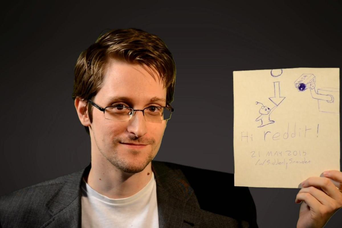 Edward Snowden Cheers On Rand Paul  Edward Snowden ...