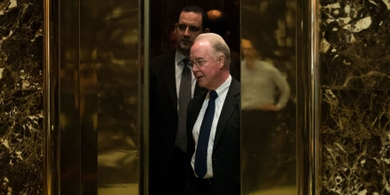 Rep. Tom Price is Trump's pick for Health and Human Services Dept.