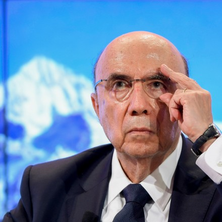 """Brazilian Finance minister Henrique Meirelles takes part in a meeting on the day of the World Economic Forum, on January 18, 2017 in Davos.<br /><br /><br /><br /><br /><br /><br /><br /><br /><br /><br /><br /><br /><br /><br /><br /><br /><br /><br /><br /><br /><br /><br /> With the world's elite holding its breath until Donald Trump becomes the next US president, outgoing Vice-President Joe Biden addresses the World Economic Forum in Davos / AFP / FABRICE COFFRINI        (Photo credit should read FABRICE COFFRINI/AFP/Getty Images)"""" /></a></p> <p class="""