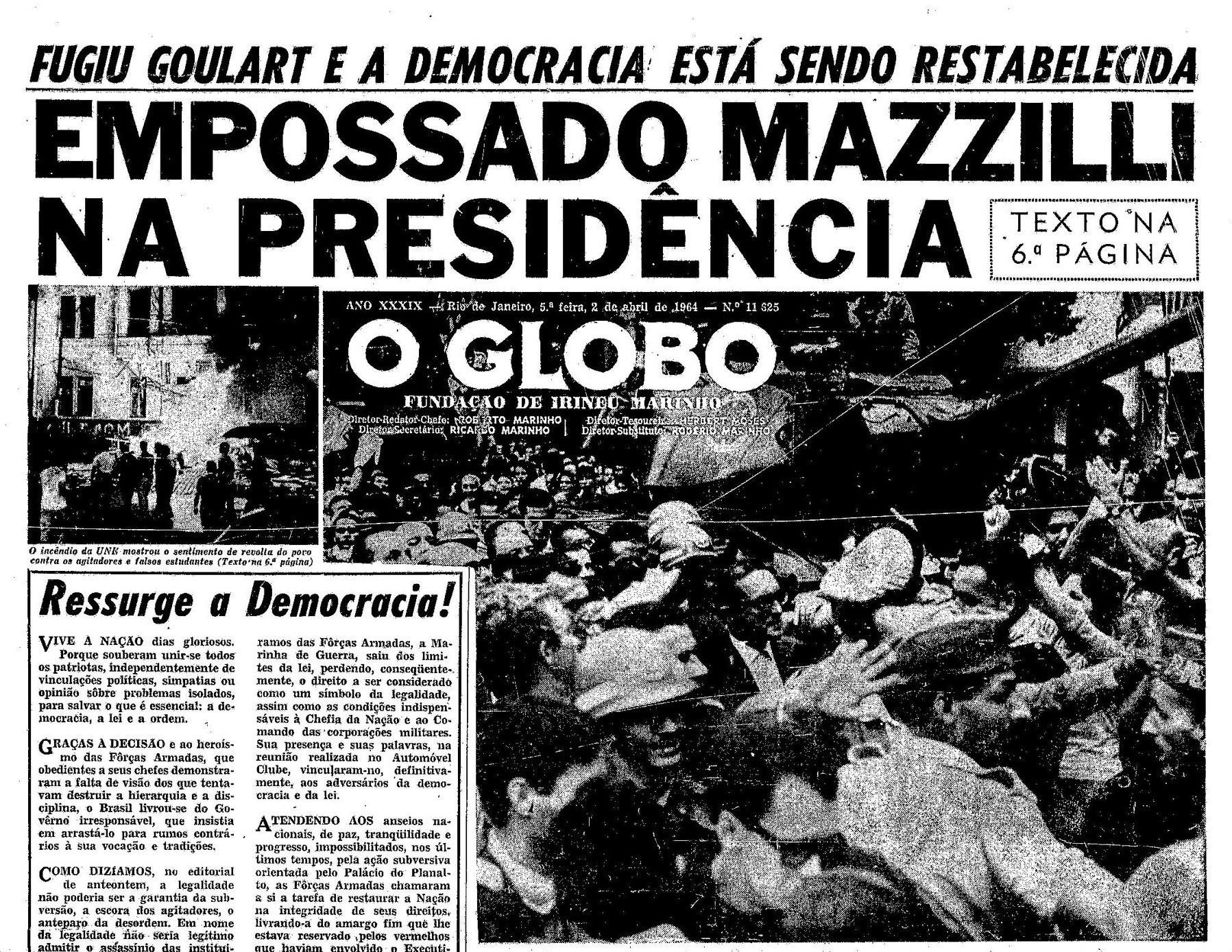 editorial-globo-1964