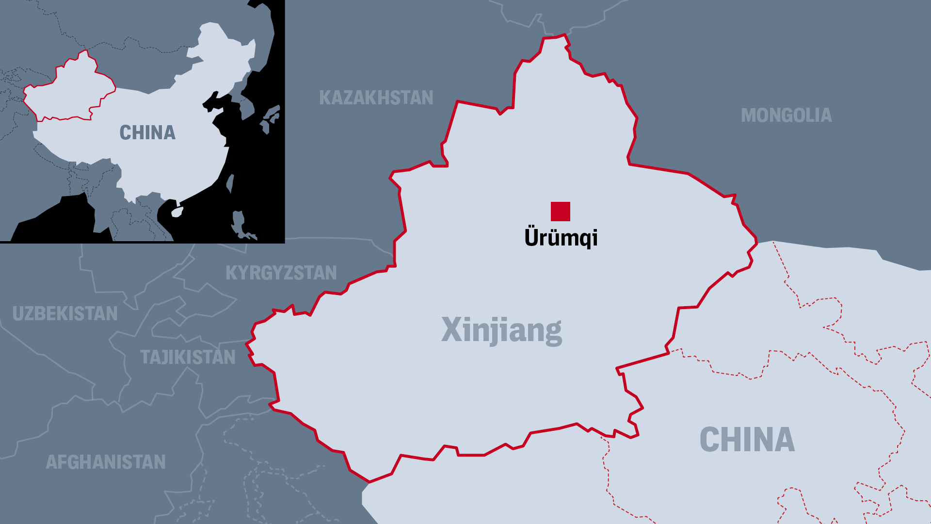 The database obtained by The Intercept contains police reports from Ürümqi, the capital and largest city in China's Xinjiang Uyghur Autonomous Region.