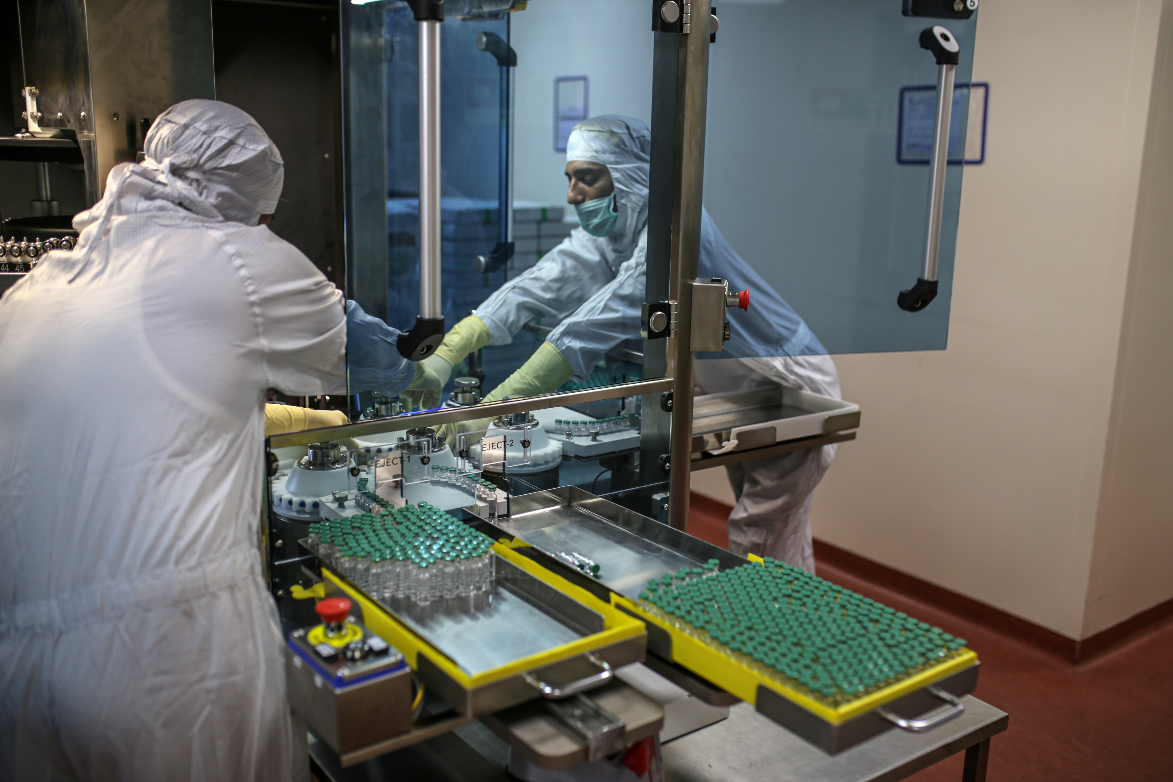 Covid Vaccine Production and Logistical Facilities at Serum Institute, the World's Largest Vaccine Maker