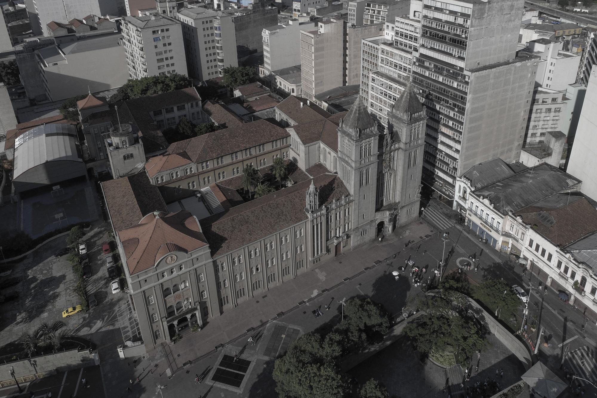 SÃO PAULO, SP, BRASIL 24.02.2018 Mosteiro São Bento, no Largo São Bento (Foto: Rubens Chaves/Folhapress)